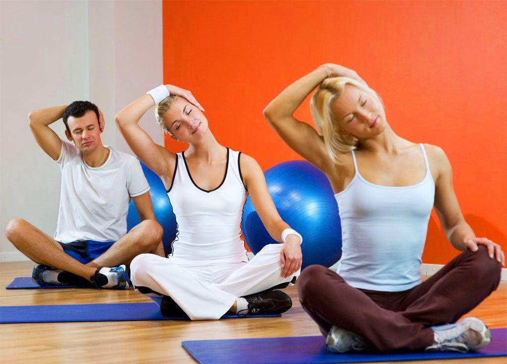 Растягивание мышц
