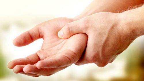 Затекание руки