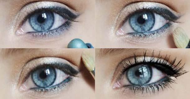 3 вариант вечернего макияжа