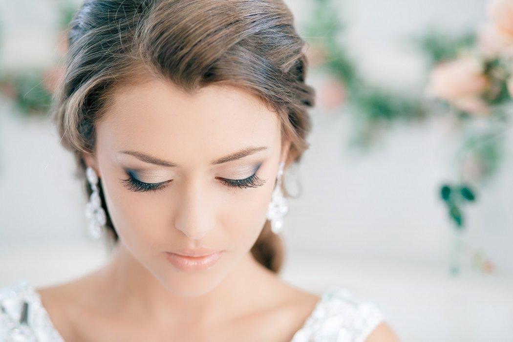 1 вариант свадебного макияжа