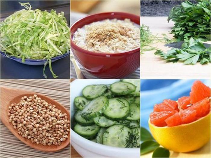 Продукты для похудения сушки тела