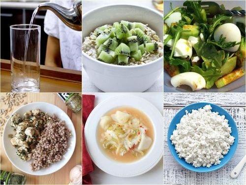 Блюда без жиров и углеводов