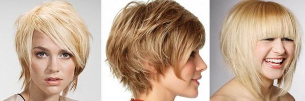 Стрижка каре градуированное на средние волосы