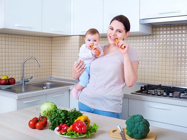 Гипоаллергенное питание кормящей мамы
