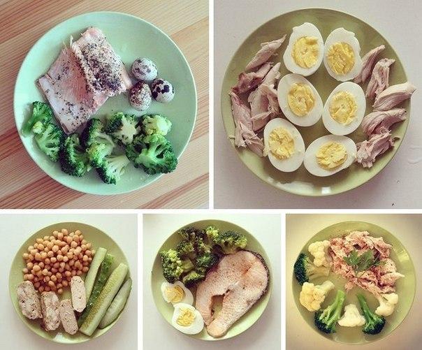 Меню на блюд для диеты