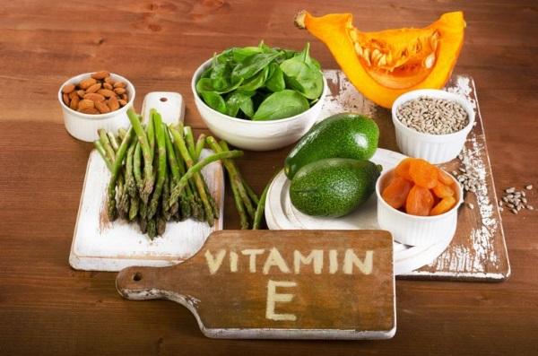 В каких продуктах больше всего витамина е