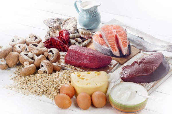 Продукты, богатые витамином В12