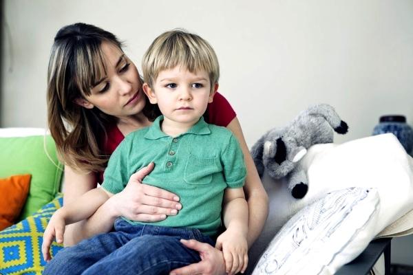 Нормализовать работу кишечника у ребенка