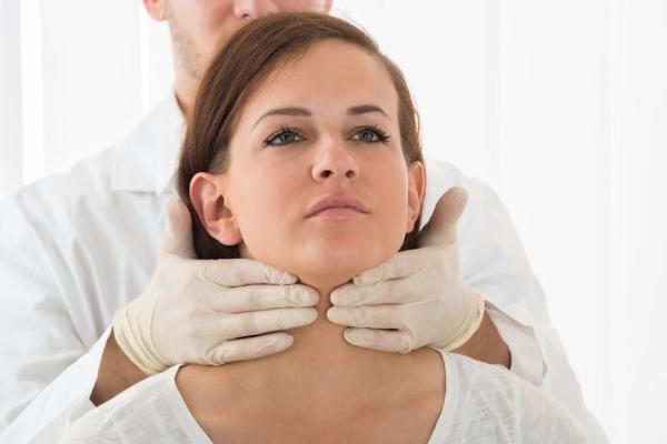 Увеличение лимфоузлов