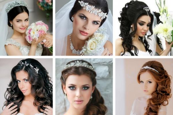 Обзор модных свадебных причёсок и техника их выполнения